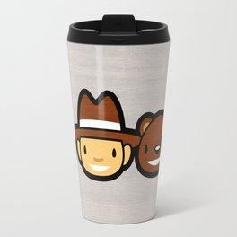 Ninja Cowboy Bear Travel Mug