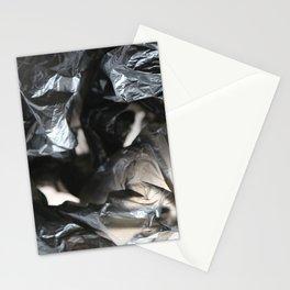 black plastic 01 Stationery Cards