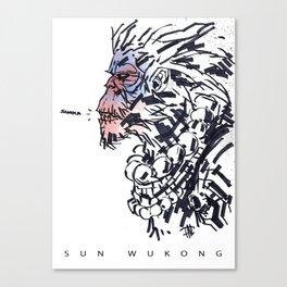 Sun Wukong the Monkey King Canvas Print