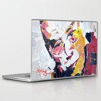 lama Laptop & iPad Skins featuring Calai Lama by Phil Fung