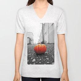 Gritty City pumpkin Unisex V-Neck