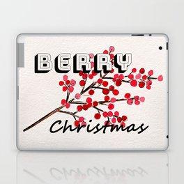 Happy berry christmas I Laptop & iPad Skin