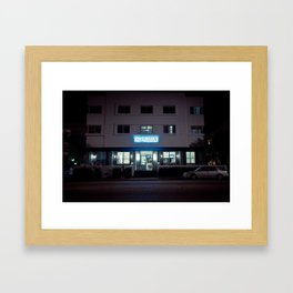 The President on South Beach Framed Art Print