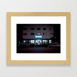 The President on South Beach Framed Art Print