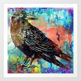 Raven - Antidiscrimination Art Print