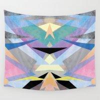 origami Wall Tapestries featuring Origami by Marta Olga Klara