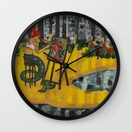 An Artist Wall Clock