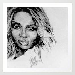 Ciara Art Print