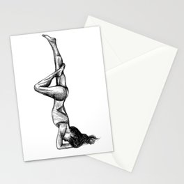 Headstand Stationery Cards