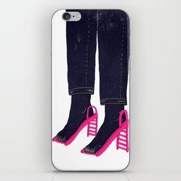 Everything but shoes N°1 iPhone Skin