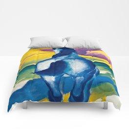 "Franz Marc ""Blue Horse II"" Comforters"