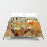 van Duvet Covers featuring van gogh by gazonula