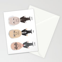 The Godfathers of Modern Architecture Stationery Cards