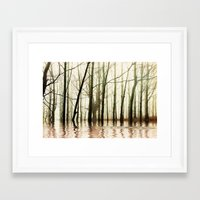 ghost Framed Art Prints featuring GHOST TREES by Catspaws