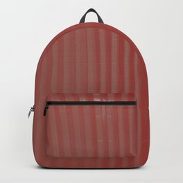 red striped glass subway tile Backpack