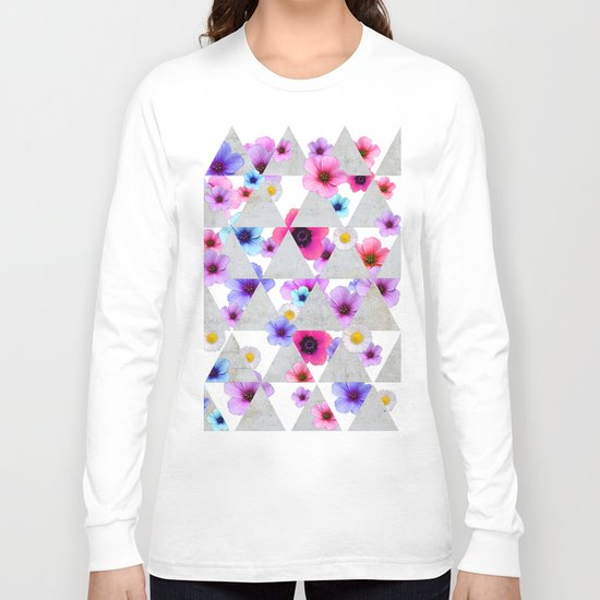 Playing with Flowers Long Sleeve T-shirt