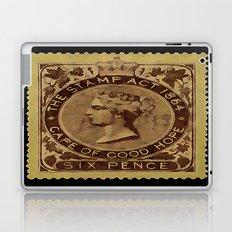 Tax Stamp 1864 - 019 Laptop & iPad Skin