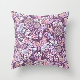 Stand out! (soft pastel) Throw Pillow