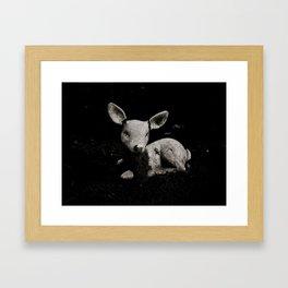 Totems of Modern Society I Framed Art Print