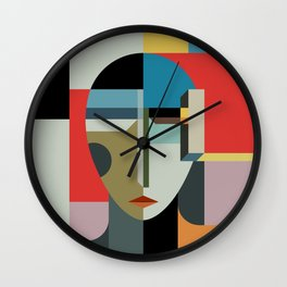 WOMAN OF WHEN Wall Clock