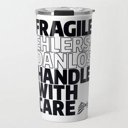 EDS Awareness - FRAGILE! Travel Mug