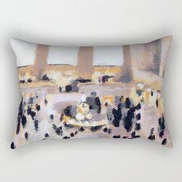 grand central Rectangular Pillow