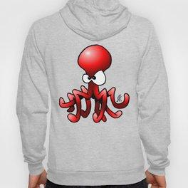 Red Octopus Hoody