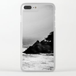 A Dark and Stormy Night Clear iPhone Case