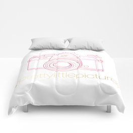 Prettylittlepictures Gold & Pink Comforters