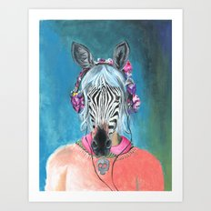 I Can't Hear You Art Print