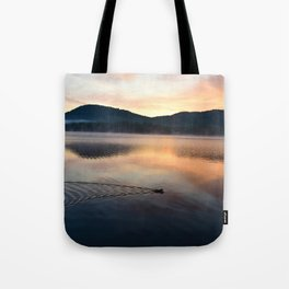 Night's End: Making Ripples Tote Bag