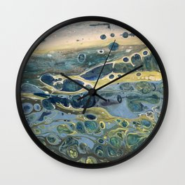 Beach of a Pebble Dream Wall Clock