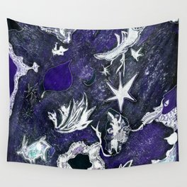 snow flurry Wall Tapestry