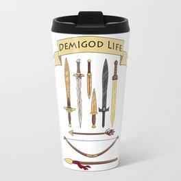 Demigod Life Includes Weapons Travel Mug