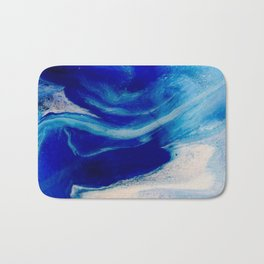 Blue Inlet Bath Mat