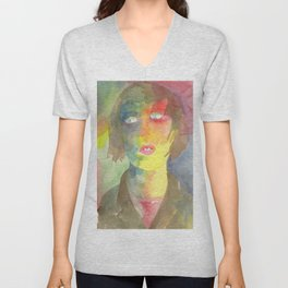 Be Ahead of All Farewells Unisex V-Neck