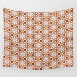 Floral Pattern 166 Wall Tapestry