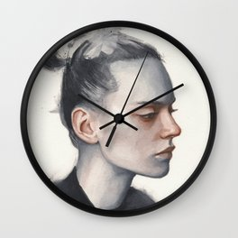 Small watercolor 10 Wall Clock