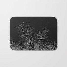 Dark night forest Bath Mat