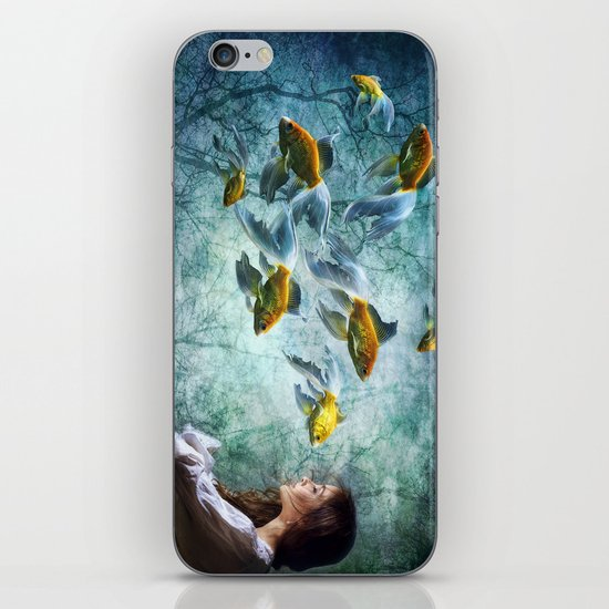 Ocean Deep Dreaming iPhone & iPod Skin