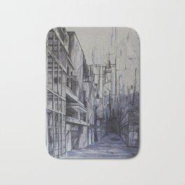 Invisible city Bath Mat