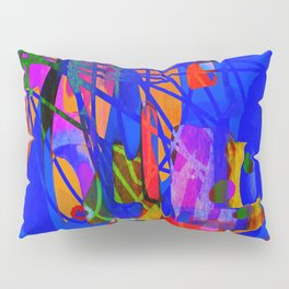 Child's Play - Abstract Painting  Pillow Sham