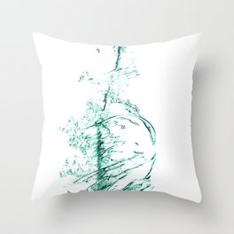 water 3 Throw Pillow