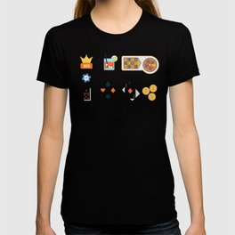 Cash, Roulette, Chips & Cards Nevada Day T-shirt