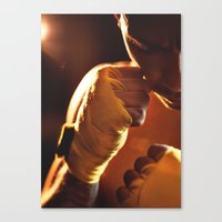 fight Canvas Prints featuring Fight. by Alexey & Julia