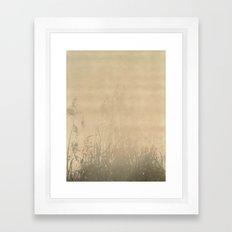 Sunbury Field Polaroid Framed Art Print