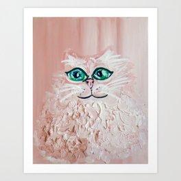 so flufffffyyyy Art Print