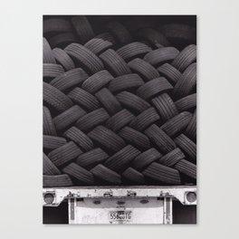 Tires Canvas Print