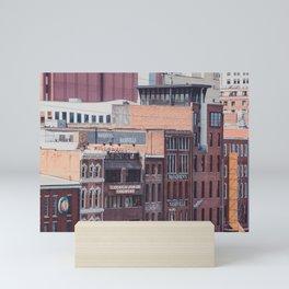 Nashville Riverfront Mini Art Print