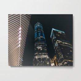 One World Trade Center Metal Print